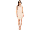 Shift Lace Dress w/ Lurex