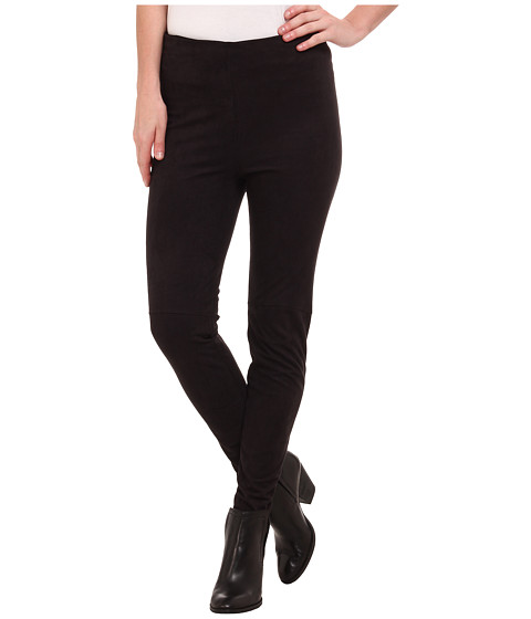 High Waisted Suede Leggings