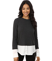 Calvin Klein - Thermal Top w/ Shirting