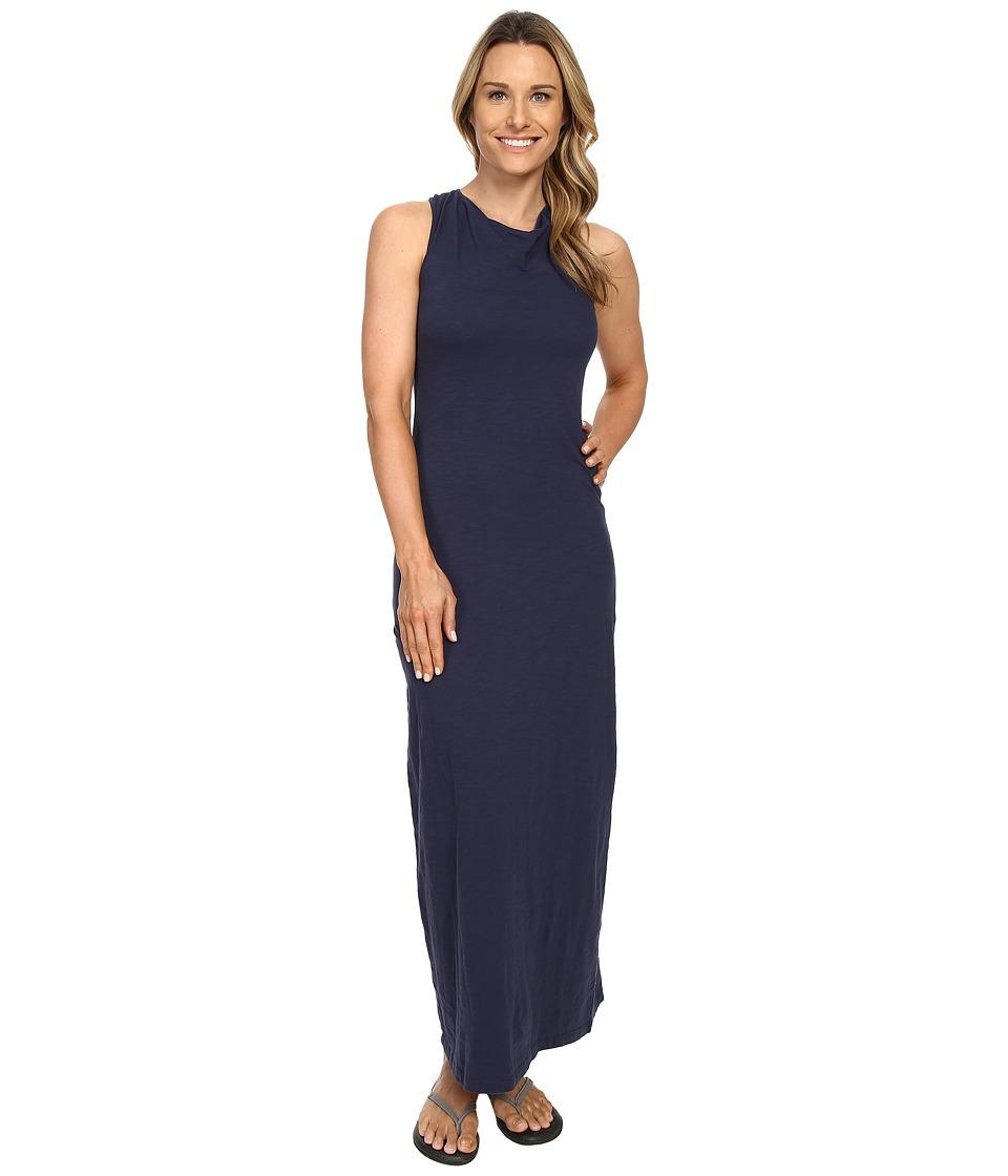 Mountain Khakis Solitude Maxi Dress Midnight Blue Womens Dress
