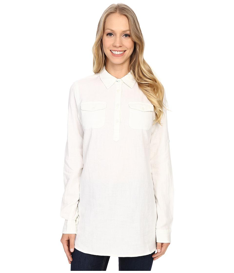 Mountain Khakis Two Ocean Tunic Shirt Linen Womens Blouse