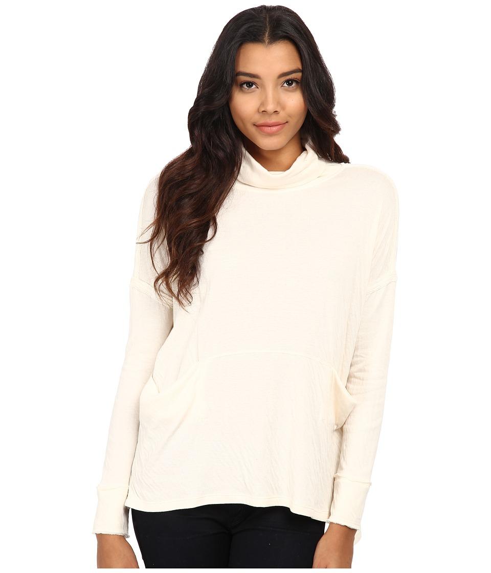 Free People Long Flight Pullover Vanilla Womens Sweater