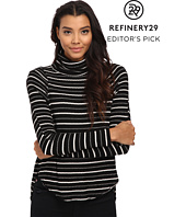 Free People - Drippy Striped Thermal Pullover