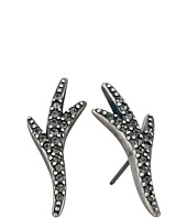 Giles & Brother - Pave Thorn Stud Earrings