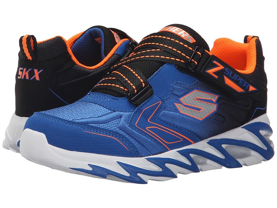 SKECHERS KIDS Fast Volt 95955L Little Kid Royal/Black Boys Shoes