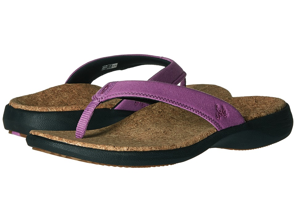 SOLE Cork Flips Orchid Womens Sandals