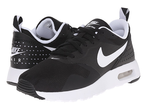 Nike Kids Air Max Tavas GS (Big Kid) - Black/White