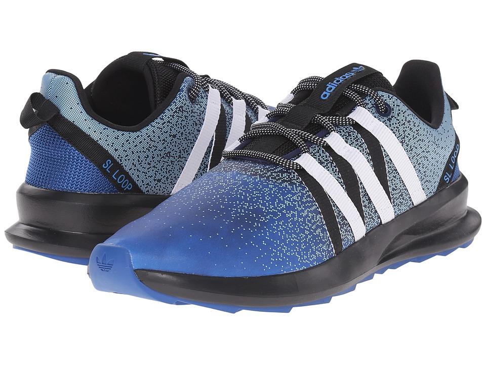 adidas Originals - SL Loop - Chromatech (EQT Blue/White/Black) Mens Shoes