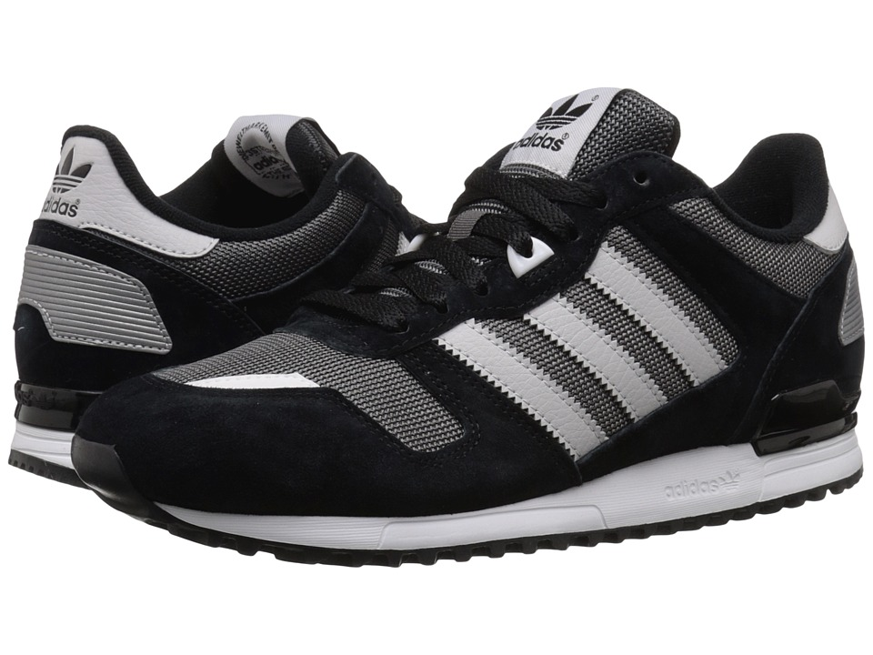 adidas Originals - ZX 700 (Shadow Black/LGH Solid Grey/Black) Men