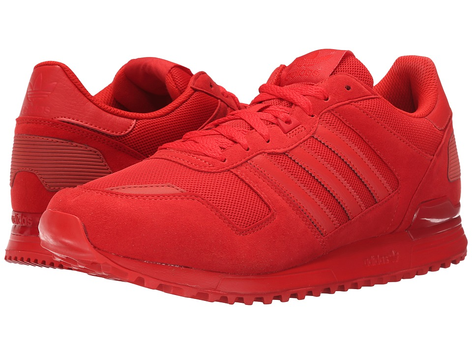 adidas Originals - ZX 700 - Mono (Red/Red/Red) Men