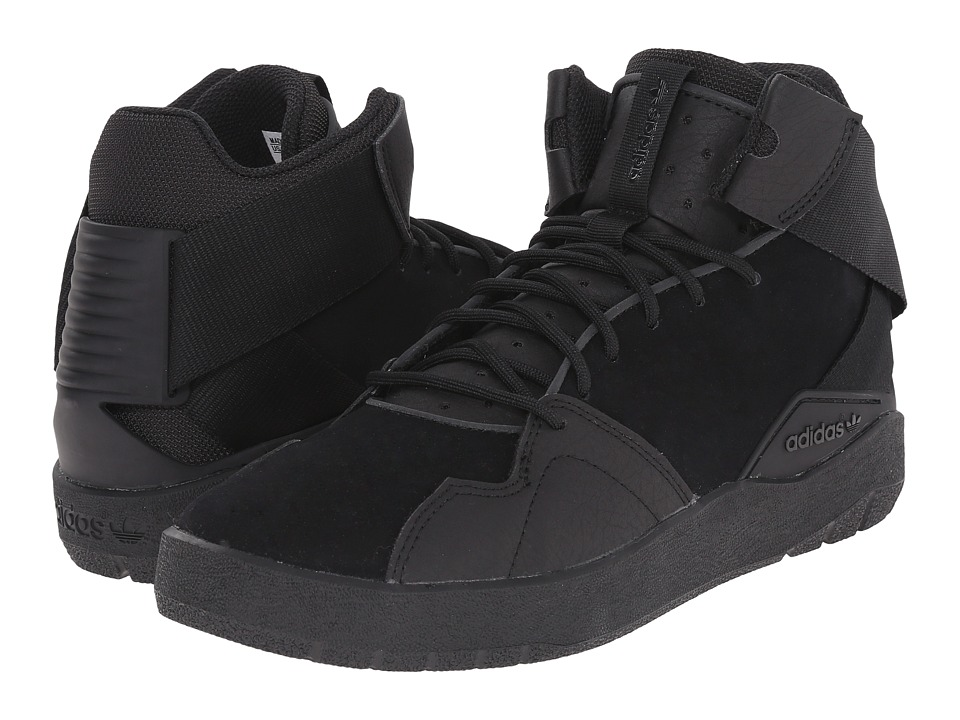 adidas Originals Crestwood Mid Black/Black/Black Mens Shoes