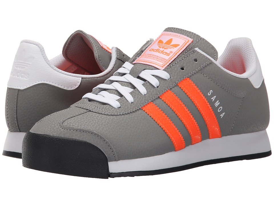 adidas Originals - Samoa (CH Solid Grey/Solar Orange/White) Men
