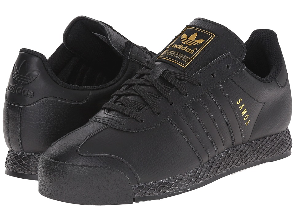 adidas Originals - Samoa - Premium (Black/Black/Gold Metallic) Men