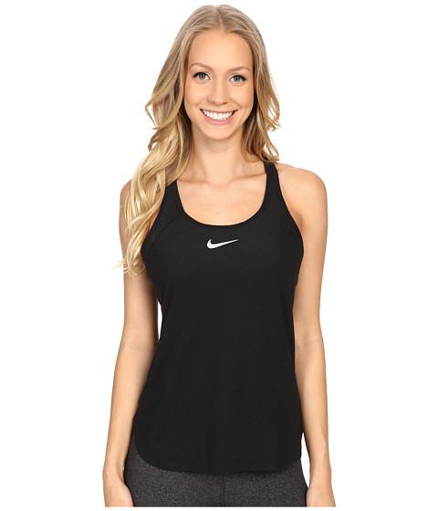 Nike Court Slam Breathe Tennis Tank Top - Black/Black/White