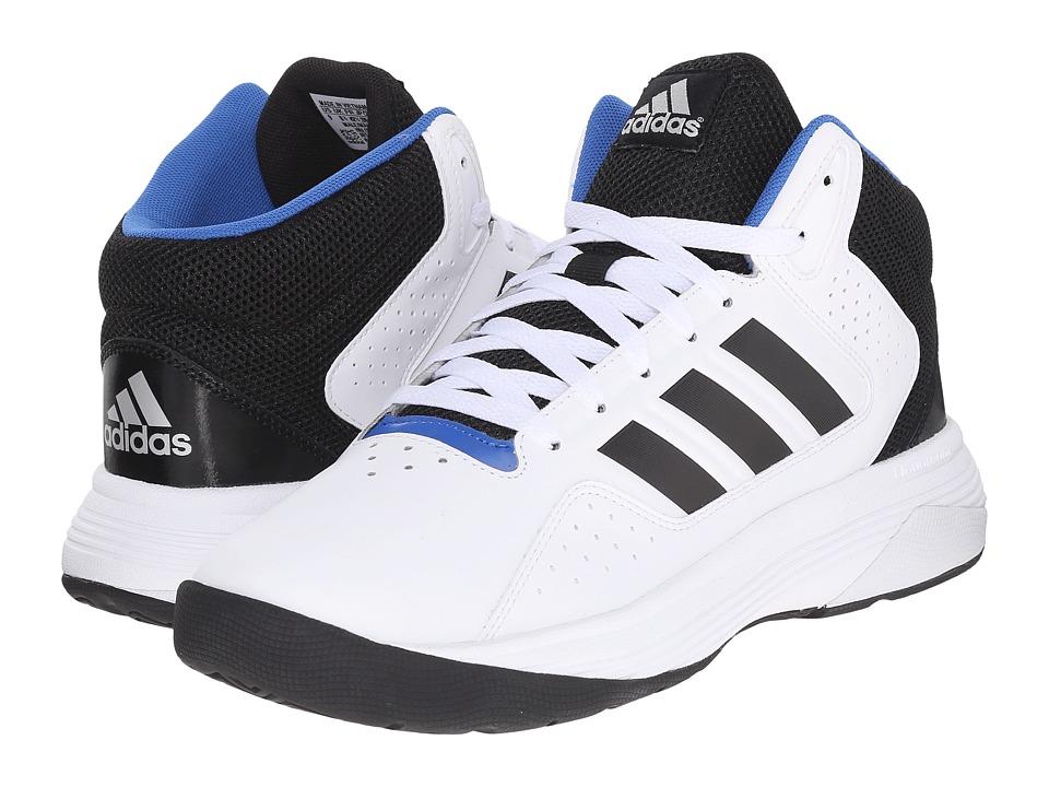 adidas Cloudfoam Ilation Mid (White/Core Black/Matte Silver) Men