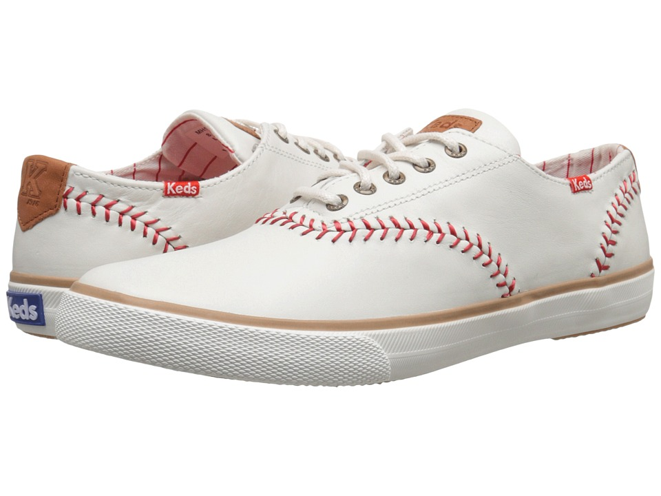 Keds - Champion Baseball Leather (Natural) Men