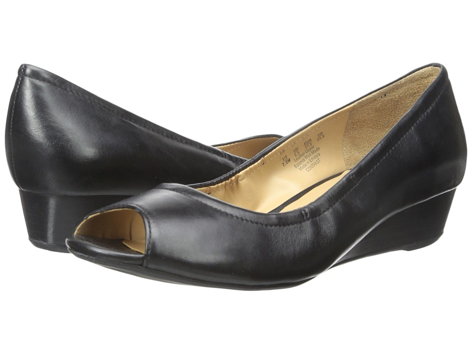 Naturalizer Contrast (Black Leather) Women
