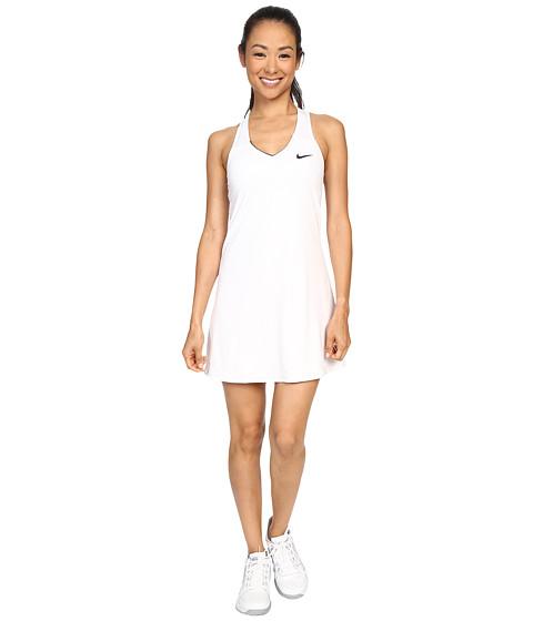 Nike Court Pure Tennis Dress - White/Black