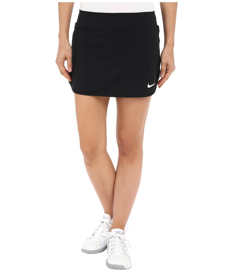 Nike Court Pure Tennis Skirt (Black/White) Women