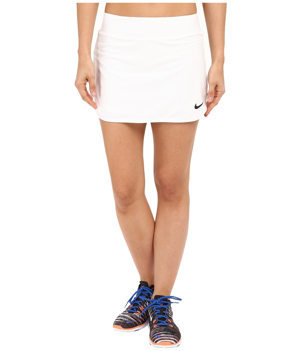 Nike Court Pure Tennis Skirt (White/Black) Women
