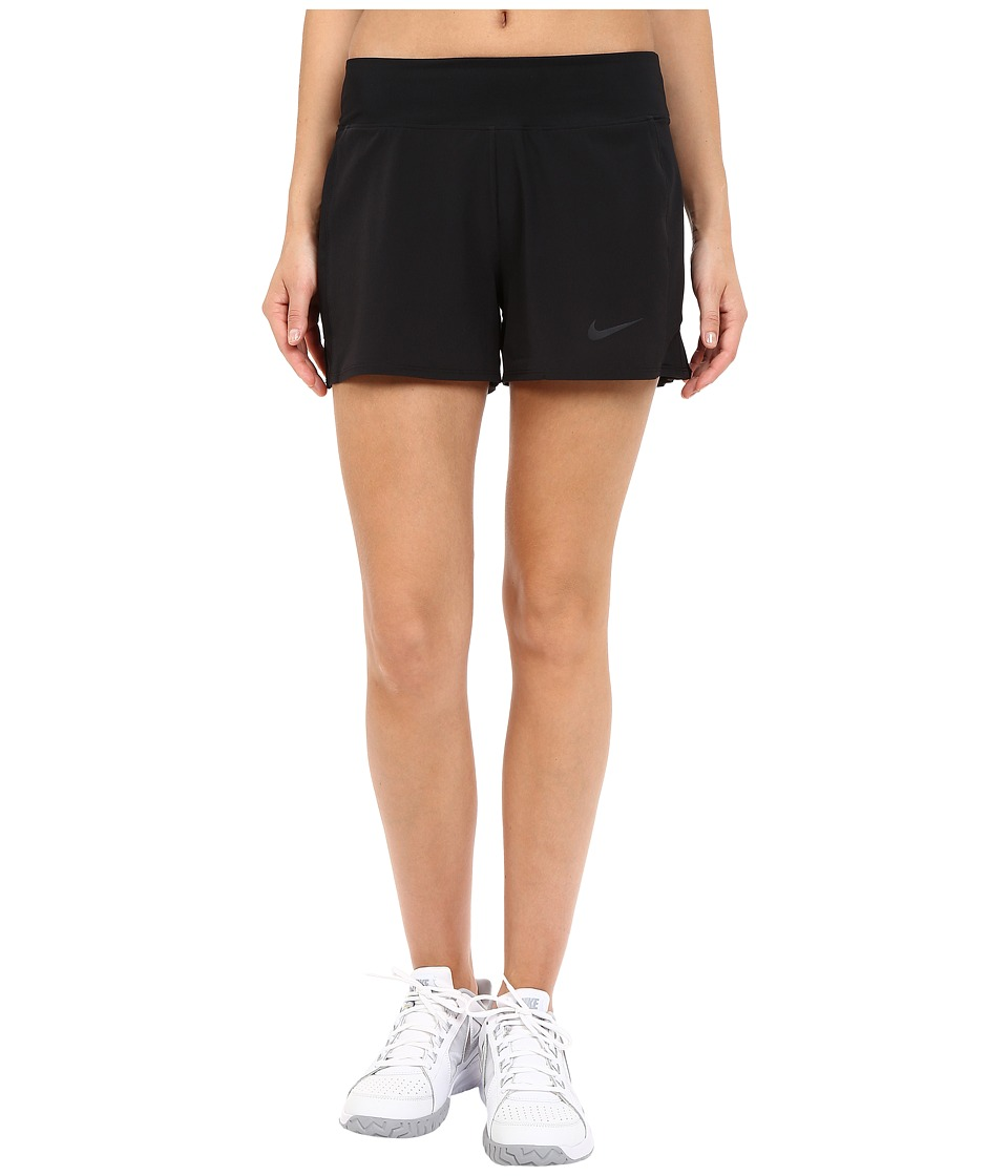 Nike Court Baseline Tennis Short (Black/Black) Women