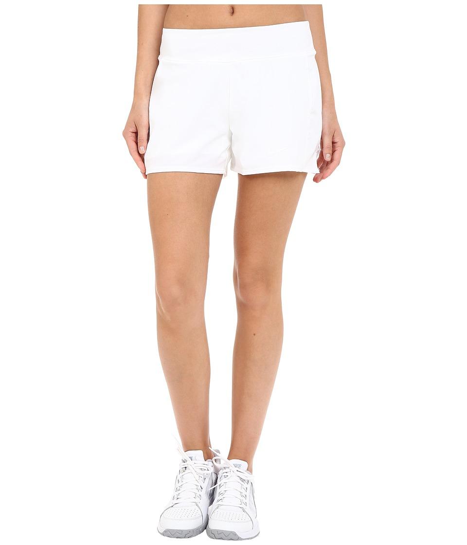 Nike Court Baseline Tennis Short (White/White) Women
