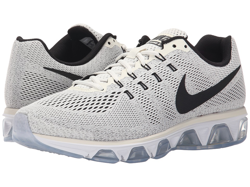 Nike - Air Max Tailwind 8 (Sail/White/Wolf Grey/Black) Mens Running Shoes