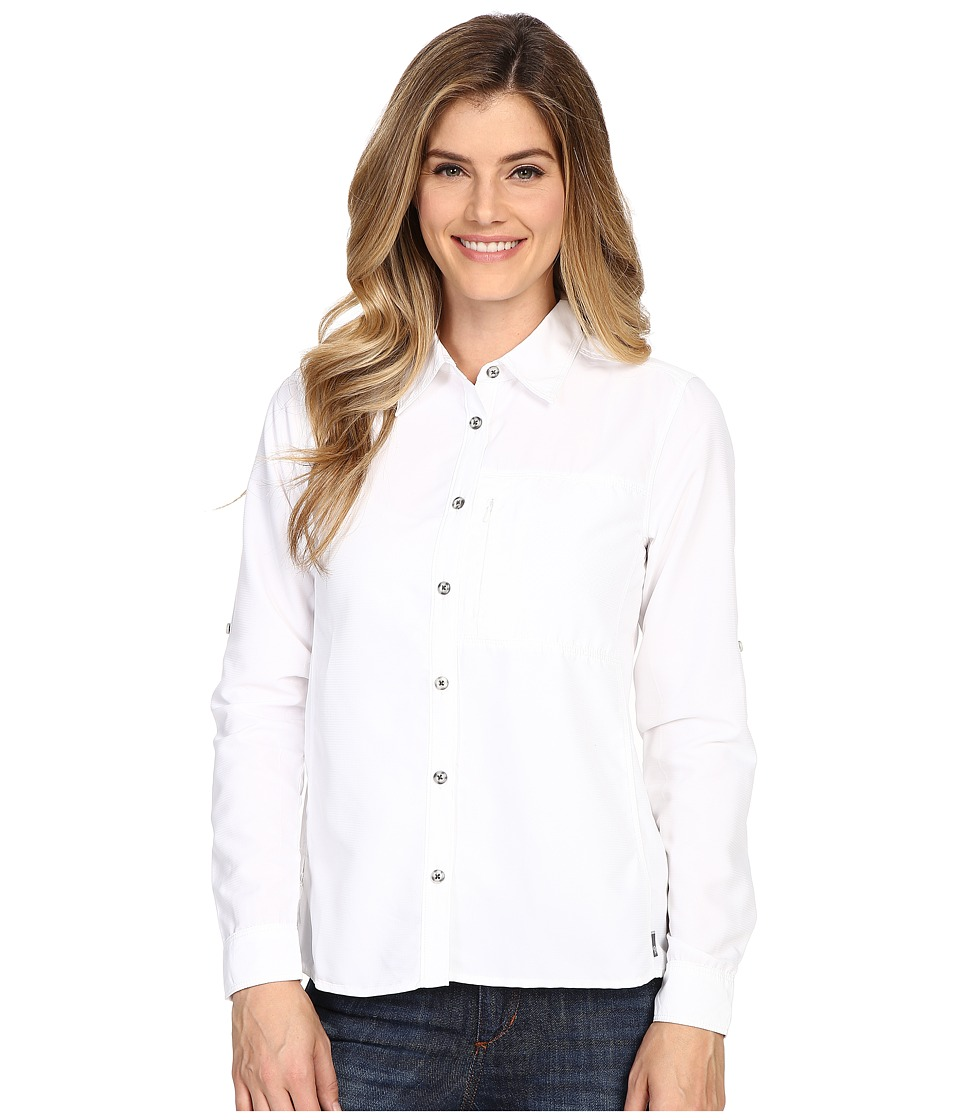 Mountain Hardwear Canyon Long Sleeve Shirt (White) Women