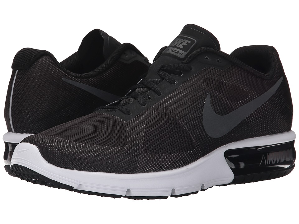 Nike Air Max Sequent (Black/Wolf Grey/White/Metallic Hematite) Men