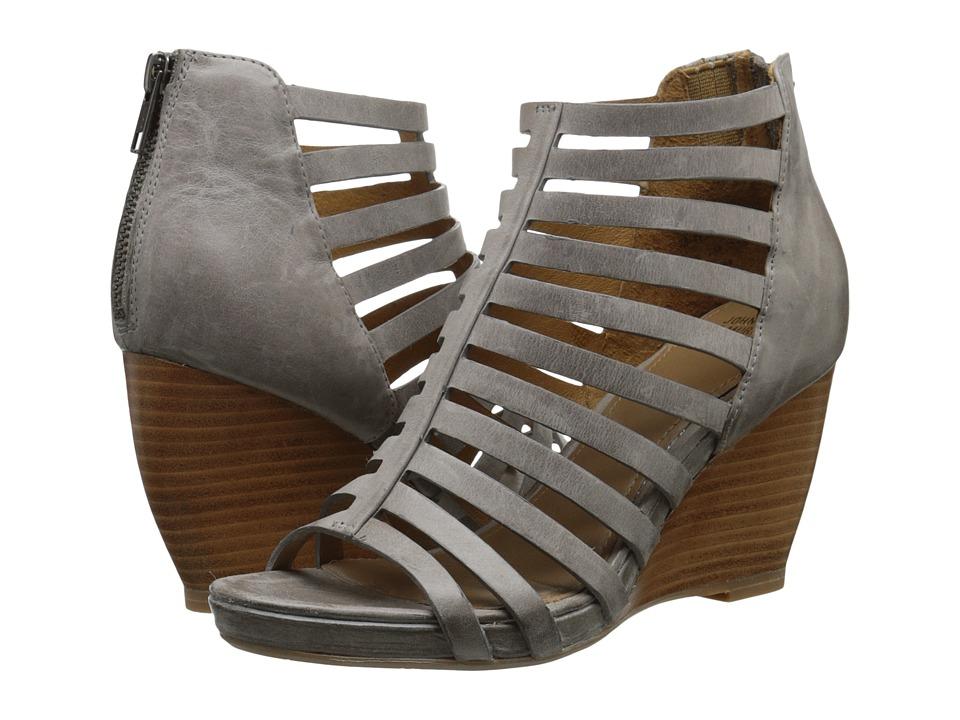 Johnston amp Murphy Nadine Gray Waxy Italian Calfskin Womens Shoes
