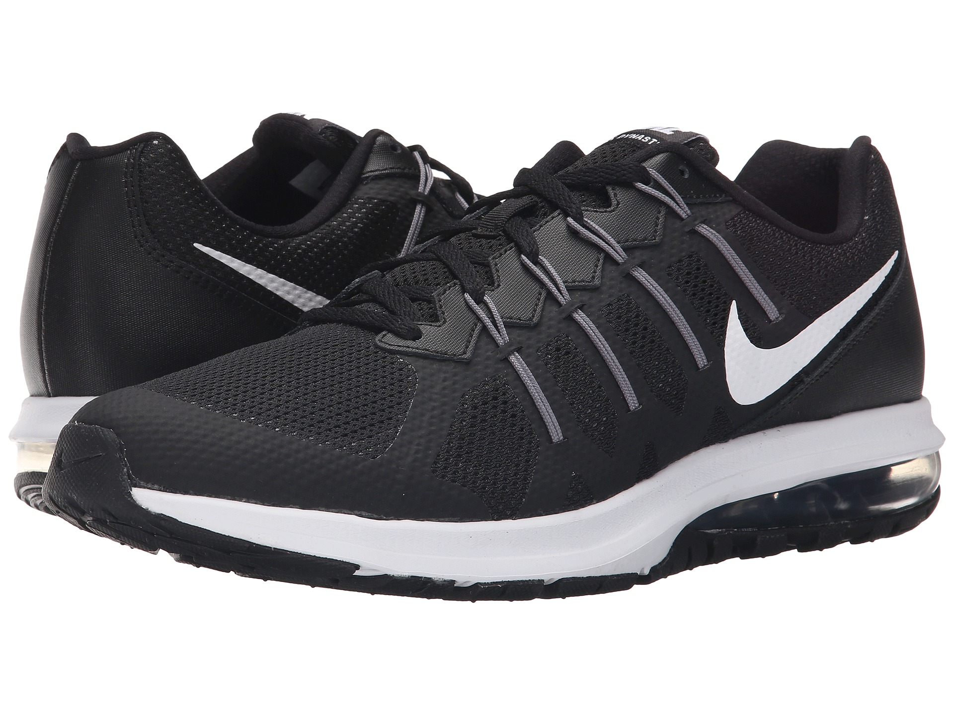 Nike Air Max 2010 Fashion Black White Mens Running Trainers Shoes