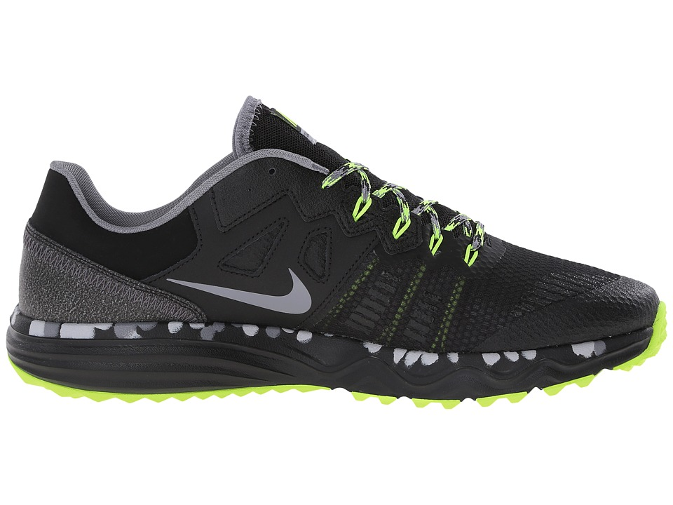Nike Dual Fusion Trail 2 Black Volt Wolf Grey Cool Zappos Com Free Shipping Both Ways