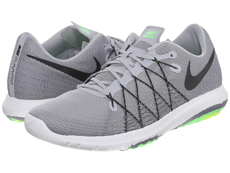 Nike Flex Fury 2 (Wolf Grey/Dark Grey/Cool Grey/Black) Men