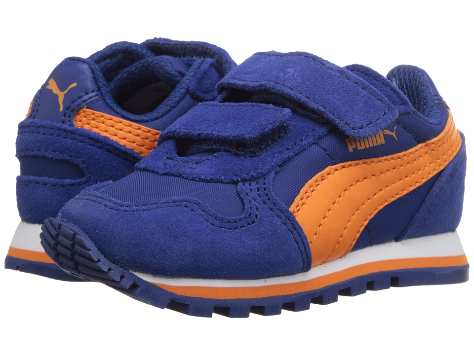 Puma Kids ST Runner NL V Toddler/Little Kid/Big Kid Limoges/Vibrant Orange Boys Shoes