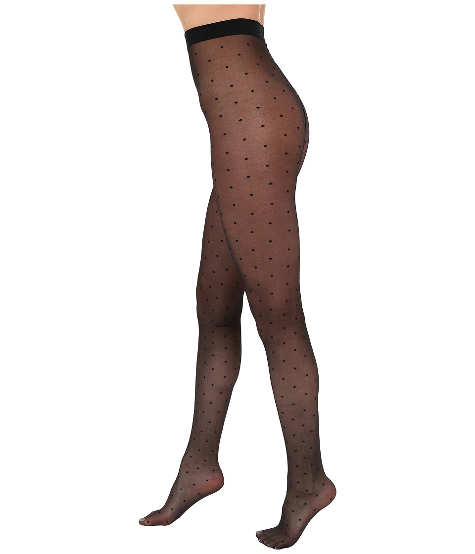 Falke - Dots Tights (Black) Hose