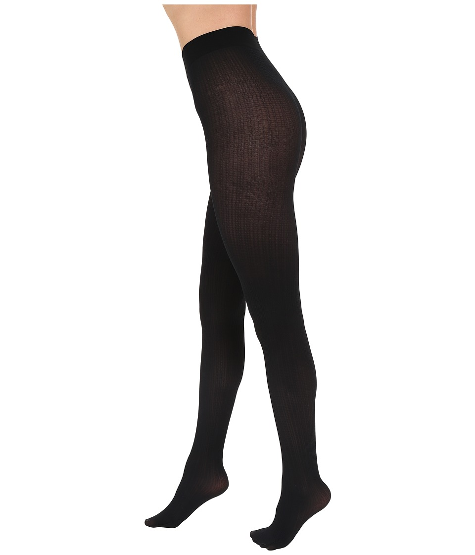 Falke - Rib Tights (Black) Hose