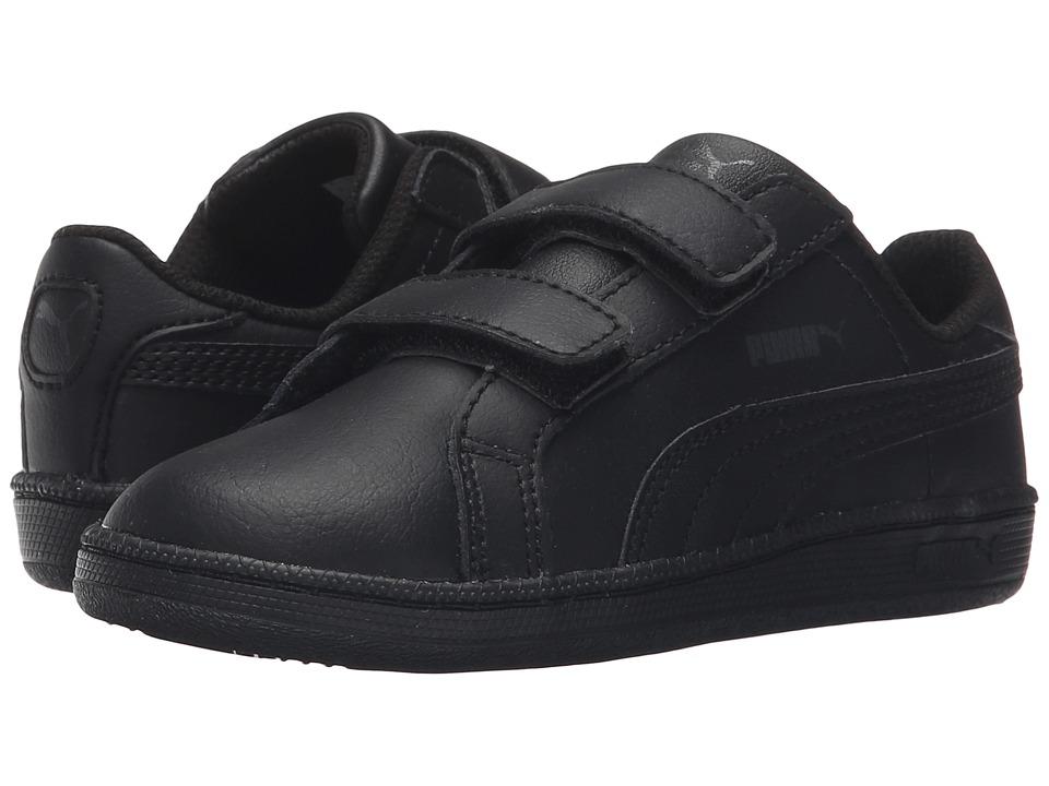 Puma Kids Smash FUN L V (Toddler/Little Kid/Big Kid) (Black/Black) Boys Shoes