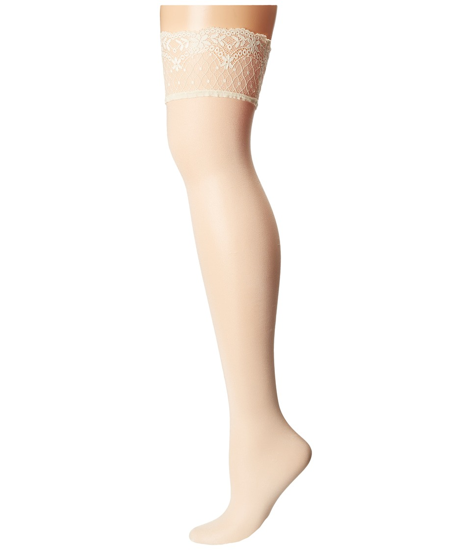 Falke - Seidenglatt 15 Stocking (Off White) Hose