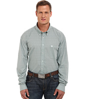 Cinch - Big & Tall Long Sleeve Plain Weave Plaid