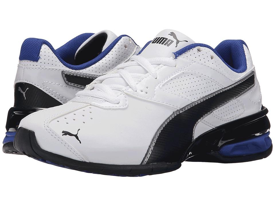 Puma Kids Tazon 6 SL (Little Kid/Big Kid) (White/Black) Boys Shoes