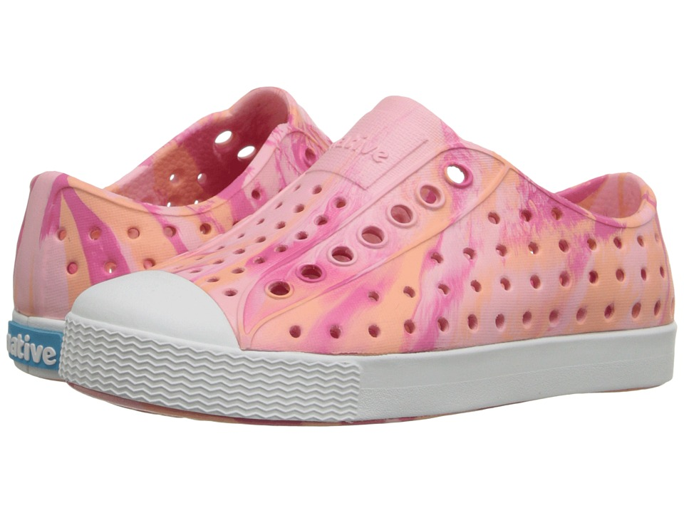Native Kids Shoes Jefferson Toddler/Little Kid Princess Pink Marbled Girls Shoes