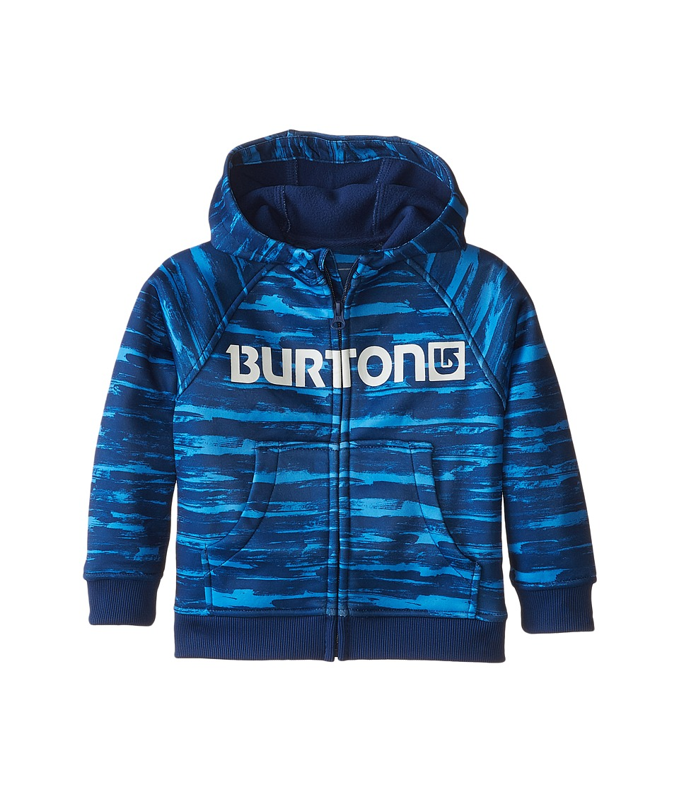 Burton Kids Mini Bonded Hoodie Toddler/Little Kids Sloppy Stripe Boys Sweatshirt