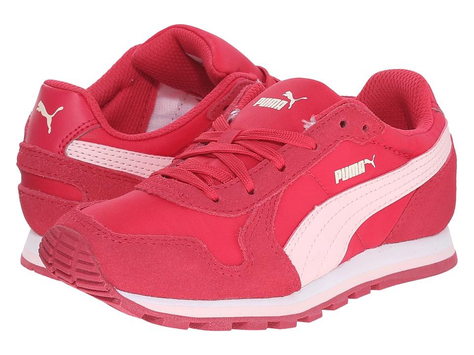 Puma Kids ST Runner NL Jr Little Kid/Big Kid Rose Red/Pink Dogwood Girls Shoes