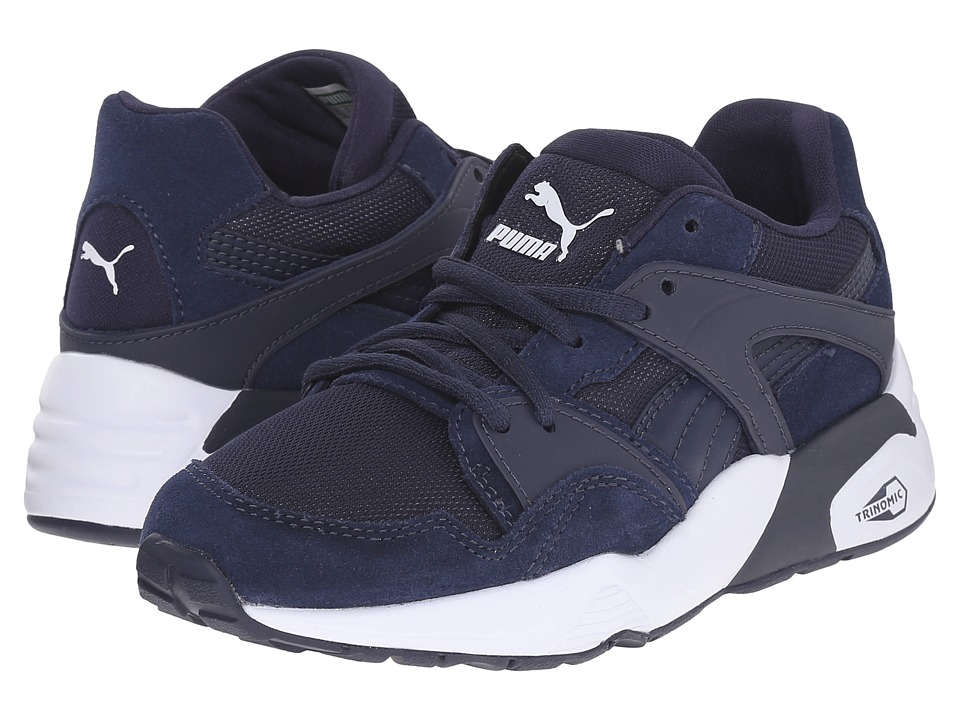 Puma Kids Blaze Jr. Little Kid/Big Kid Peacoat Boys Shoes