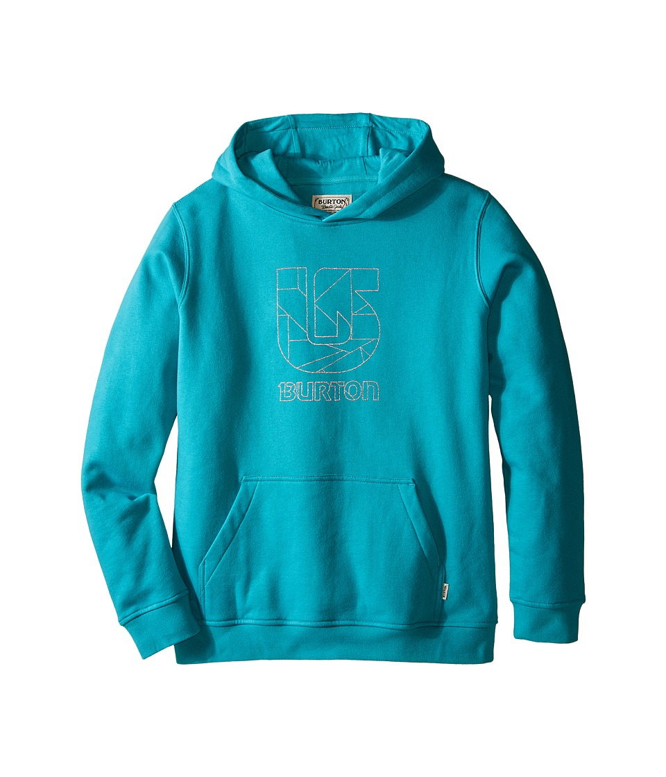 Burton Kids Logo Vertical Pullover Hoodie Big Kids Eventide Boys Sweatshirt