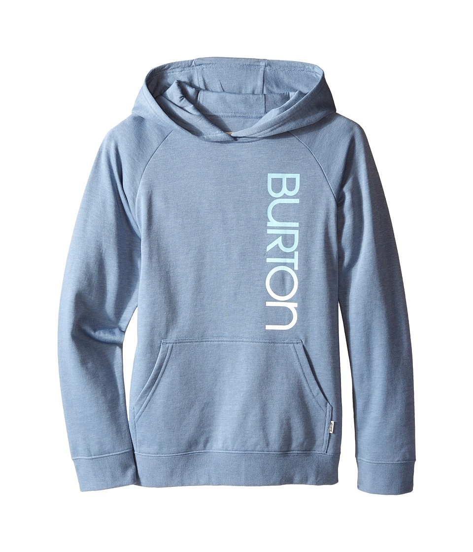 Burton Kids Antidote Pullover Hoodie Big Kids Faded Heather Girls Sweatshirt
