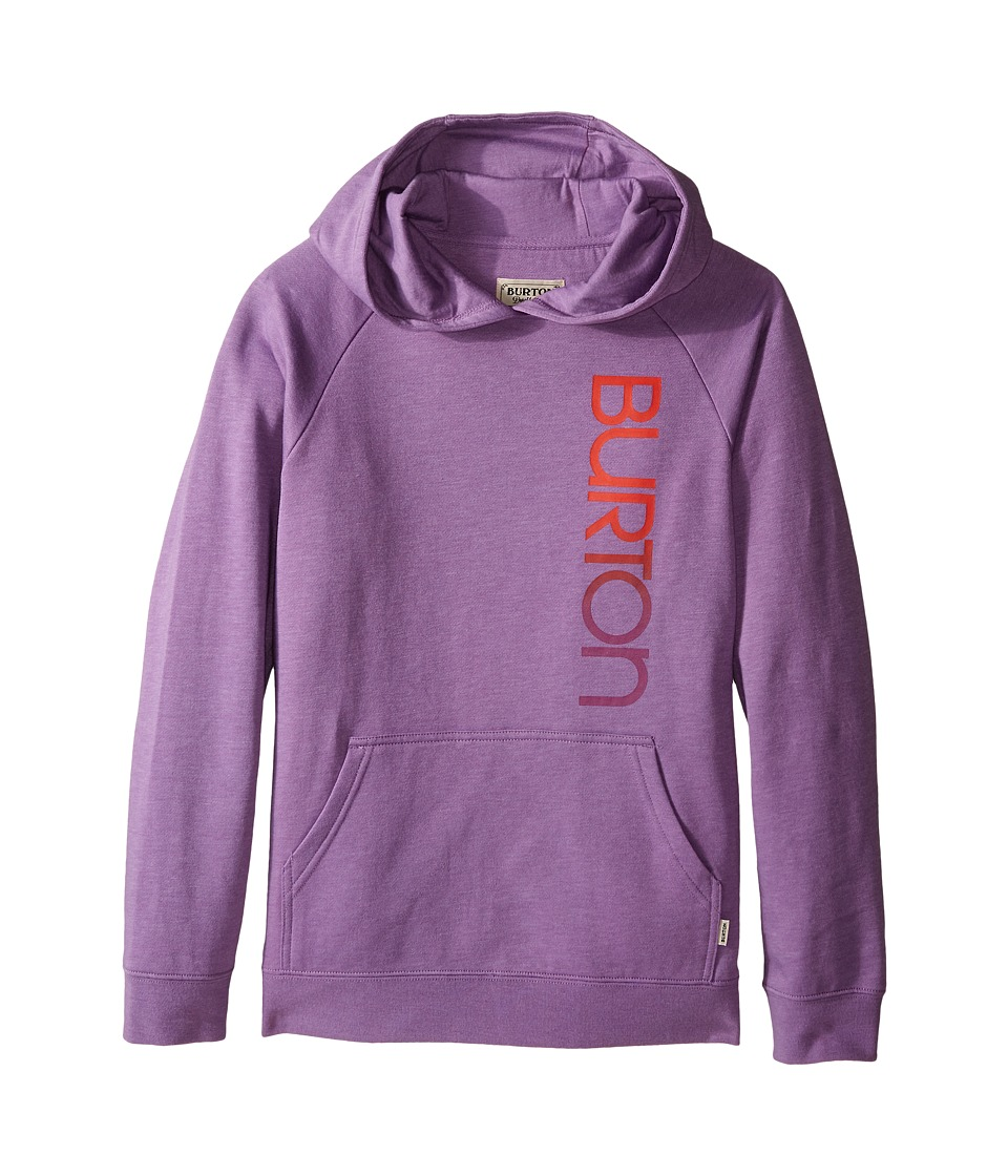 Burton Kids Antidote Pullover Hoodie Big Kids Dusty Grape Girls Sweatshirt