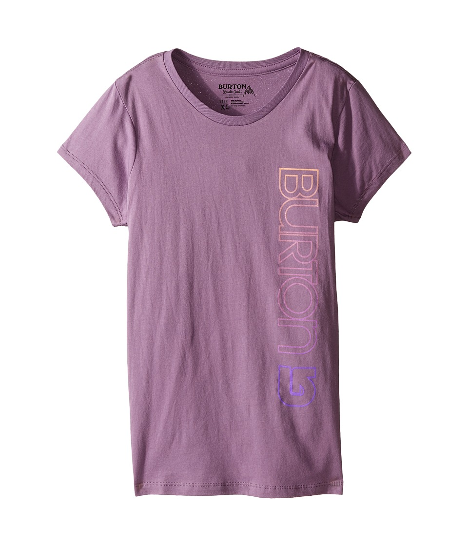 Burton Kids Antidote S/S Tee Big Kids Dusty Grape Girls Short Sleeve Pullover