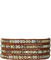 Chan Luu - 32' Aqua Terra Crystal Wrap Bracelet
