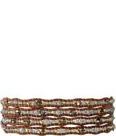 Chan Luu - 32' Mystic Labradorite Crystal Wrap Bracelet